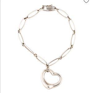 TIFFANY & CO. Open Heart Link Bracelet